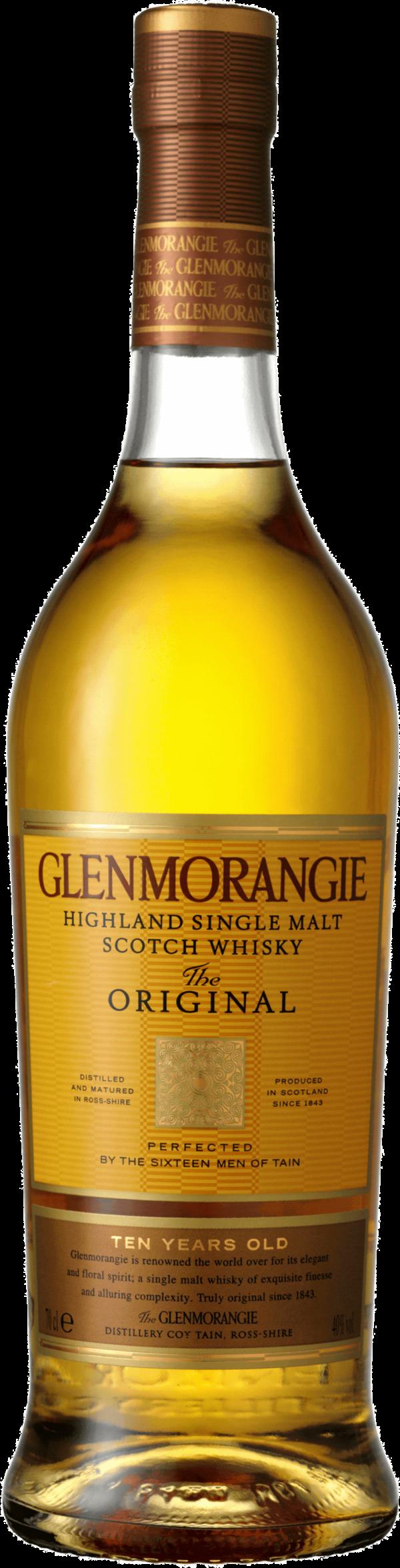 Glenmorangie 10 Years. En Whisky av typen Maltwhisky i en 700 Flaska från Skottland