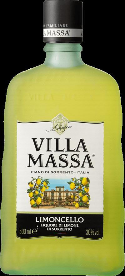 Limoncello di Sorrento Villa Massa. En Likör av typen Fruktlikör i en 500 Flaska från