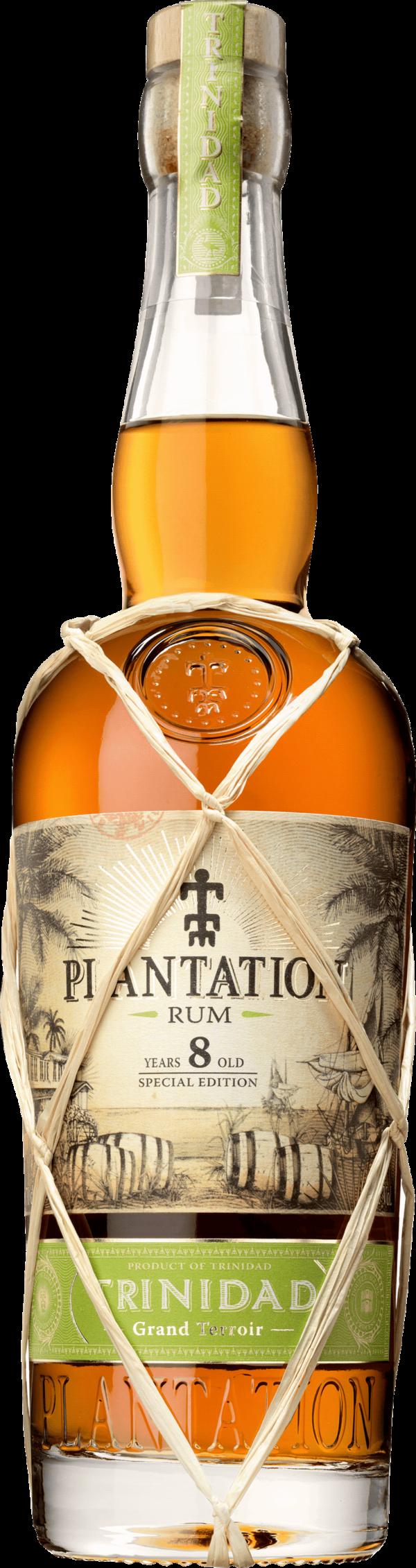 Plantation Trinidad 8 Years. En Rom av typen Mörk rom i en 700 Flaska från