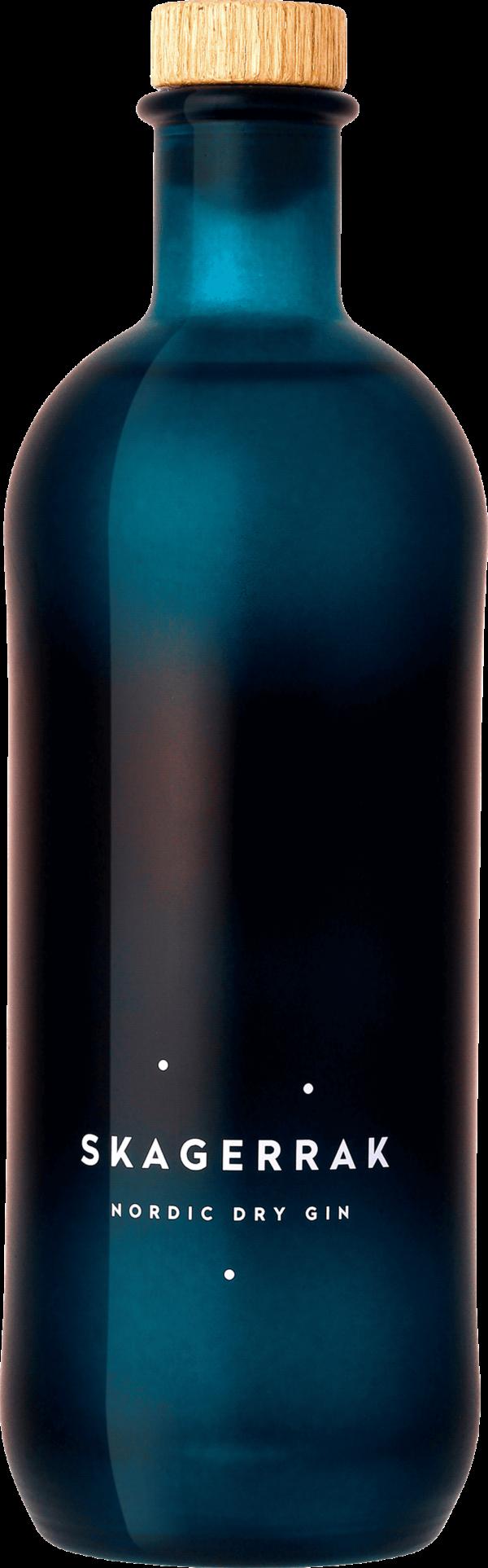 Skagerrak Nordic Dry Gin. En Gin och Genever av typen Gin i en 700 Flaska från
