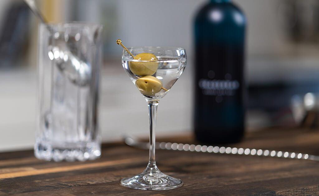 djupdykning i Dry Martini